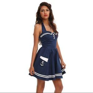 NWT! Hell Bunny Motley/Vixen Sailor Dress in Small